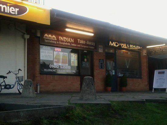 Colwyn Bay United Kingdom  City pictures : AMK Indian Takeaway, Colwyn Bay Restaurant Reviews TripAdvisor