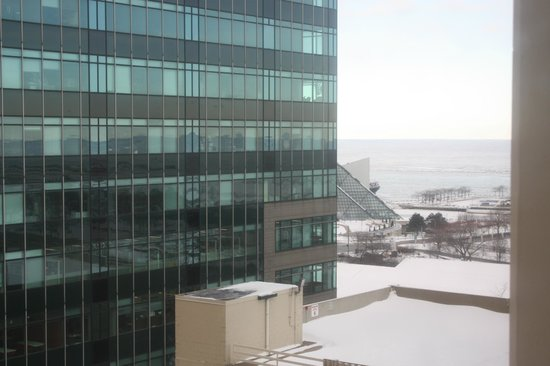 Doubletree Cleveland Downtown / Lakeside: View from hotel window