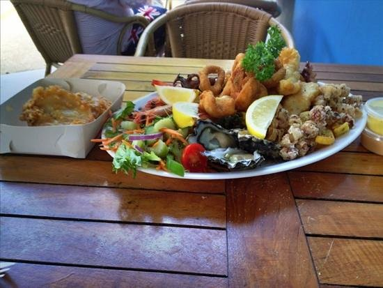 Nelson Bay, Australia:                   Platter available from Bubs