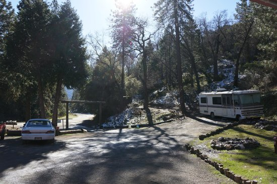 Dunlap, Californie : The Parking Lot/Entrance 