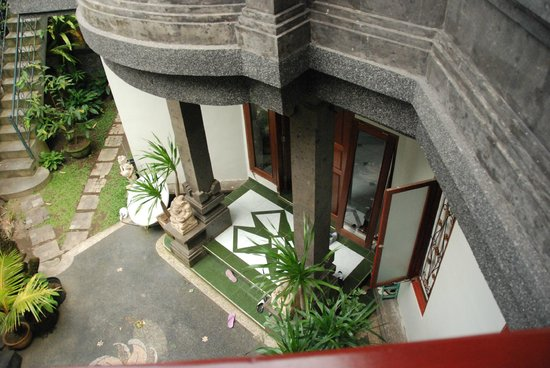 Ubud Dream:                   Main entrance to host living area.