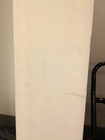 Doubletree by Hilton Bloomington - Minneapolis South: Scuffed walls