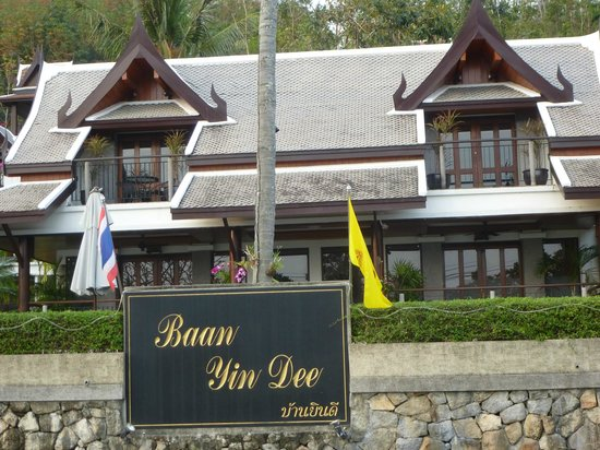 Baan Yin Dee Boutique Resort: from the street