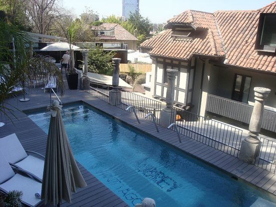 The Aubrey Boutique Hotel:                   beautiful pool area at the Aubrey