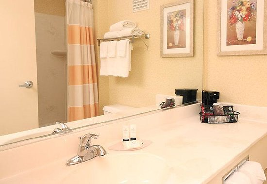 Fairfield Inn Zanesville: Guest Bath