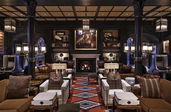 Hotel Jerome, An Auberge Resort: Living Room