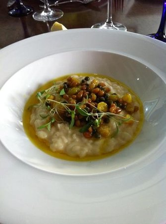 Kendal, UK: Cauliflower risotto