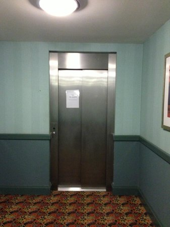 Hellaby Hall Hotel:                                                       Lift (out of order)