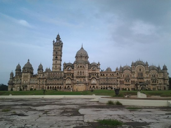 Outside View Of Laxmi Vilas Palace Picture Of Laxmi