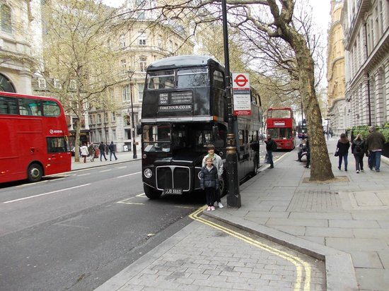 The Time Tour bus. - Picture of The London Time Tour Bus, London ...