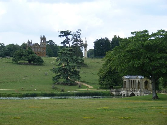 Buckingham, UK:                   My favourite view at Stowe