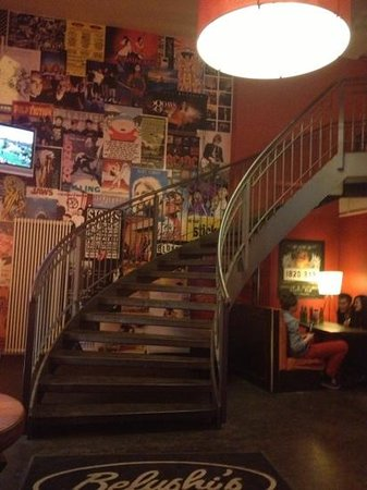 St. Christopher's Berlin Hostel:                   cool walls