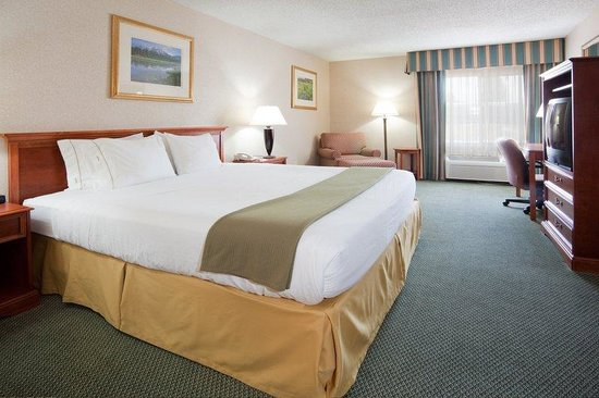 Holiday Inn Express Salida: Salida hotel 1 king bed guest room
