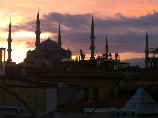 Empress Zoe:                   View from the roof!