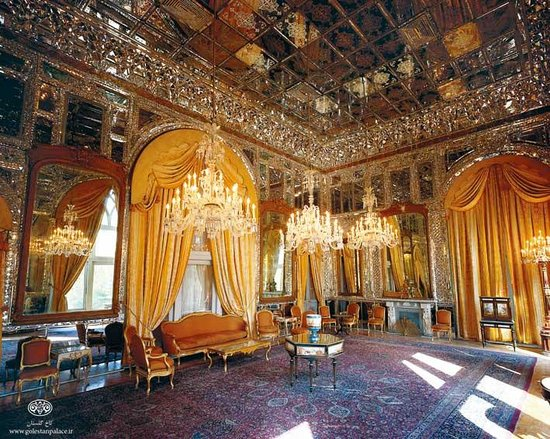 Mirror Hall Picture Of Golestan Palace Tehran Tripadvisor