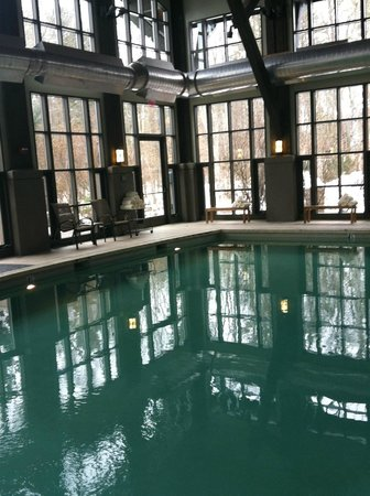 The Lodge at Woodloch:                   pool