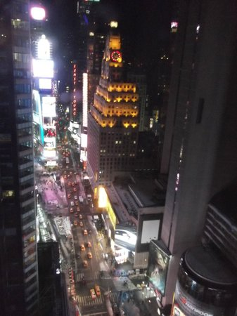 Night View Times Square Picture Of Doubletree Suites By Hilton Hotel New York City Times