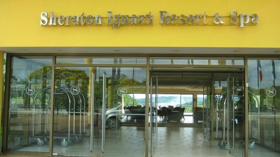 Sheraton Iguazu Resort & Spa: entrance
