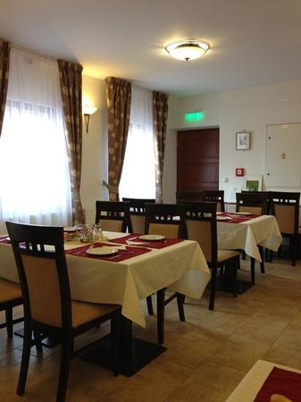Trebic, Czech Republic:                   Breakfast room