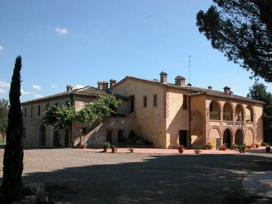 Buonconvento, Wochy: L&#39;ingresso a Piampetrucci