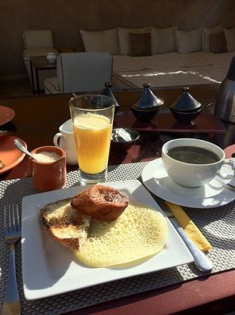                   Breakfast at Riad Dar One