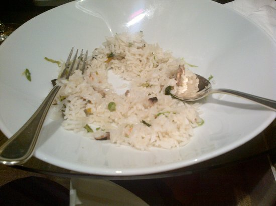 Conrad Centennial Singapore: Very plain fried rice