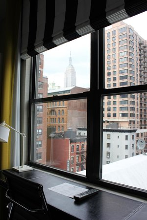The Marcel at Gramercy: View of the Empire State Building from our room
