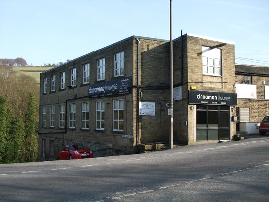 West Yorkshire, UK:                   Cinnamon Lounge is in a converted Mill
