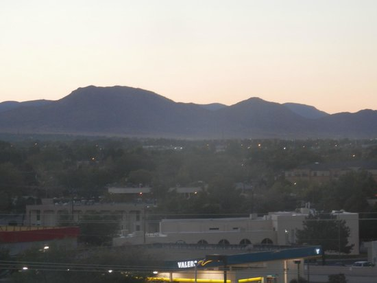 Sheraton Albuquerque Uptown:                   view from the room