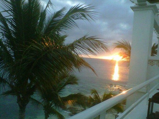 One & Only Palmilla Resort:                   Sunrise from our balcony