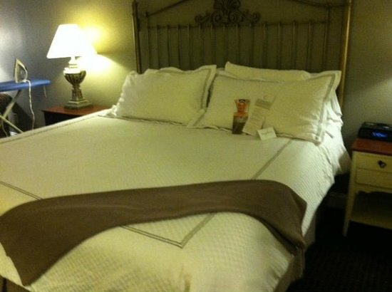 Foundry Park Inn and Spa: Large bed