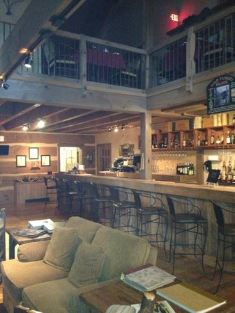 Savage River Lodge:                   Bar area of Lodge