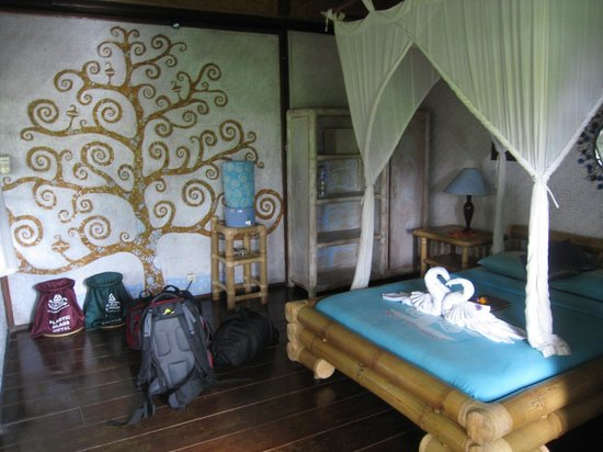 Swasti Eco Cottages:                   Wayan room - Delightful.