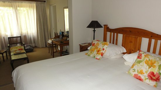La Pension Guest House:                   Our room