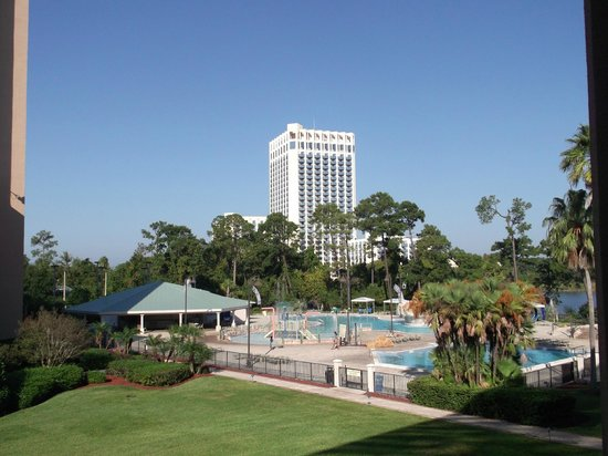 Wyndham Lake Buena Vista:                   View from the room