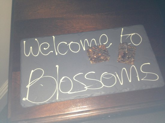Macdonald New Blossoms Hotel:                   Welcome!