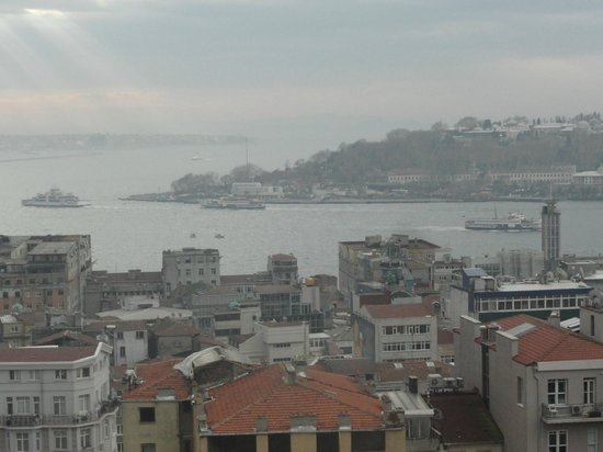 Georges Hotel Galata:                   View from the Terrace