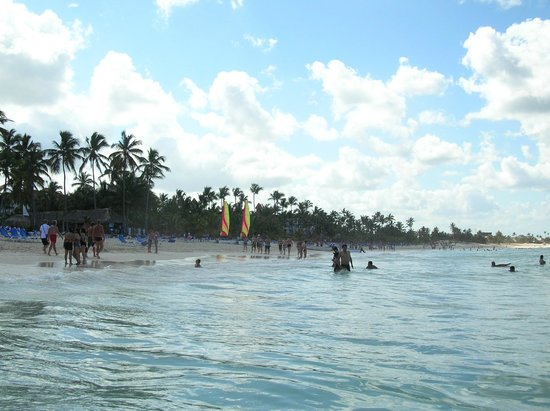 Grand Paradise Bavaro:                   plage