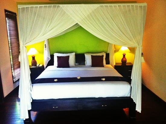 Bali Nyuh Gading Villa: bed..