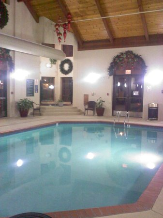 The Inn at Christmas Place:                   Indoor pool