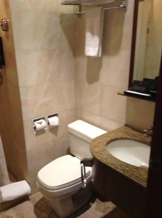 The Charterhouse Causeway Bay Hotel:                   Bathroom