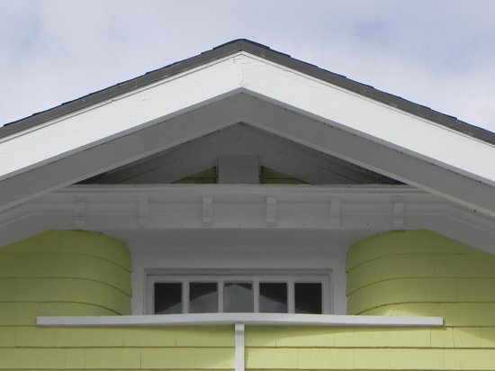 Palm Beach Hibiscus:                   An architectural detail of the facade