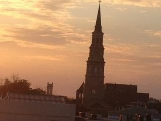Harbourview Inn:                   Charleston State of Mind-HarbourView Roof Top views