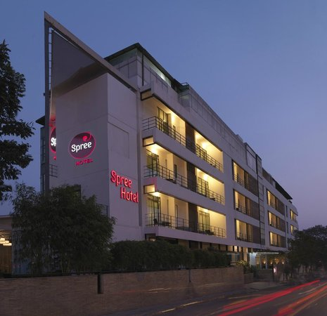 Spree Bangalore: Facade of Spree Hotel