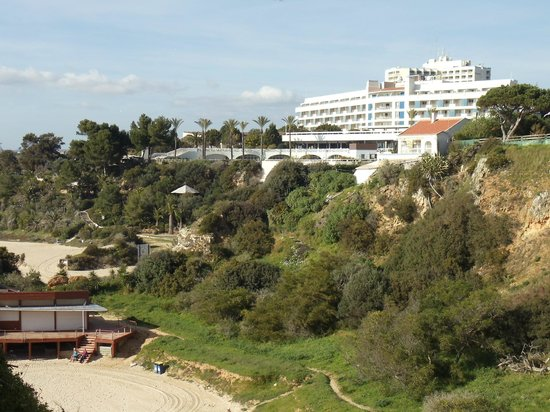Pestana Alvor Praia:                   Hotel from the beach