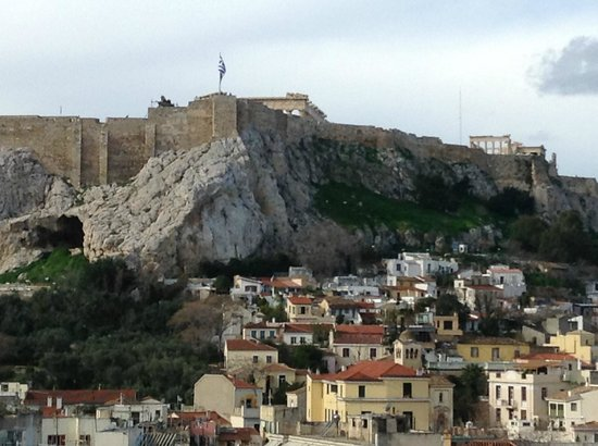 Hotel Acropolis House:                   Photo is from the roof of the hotel