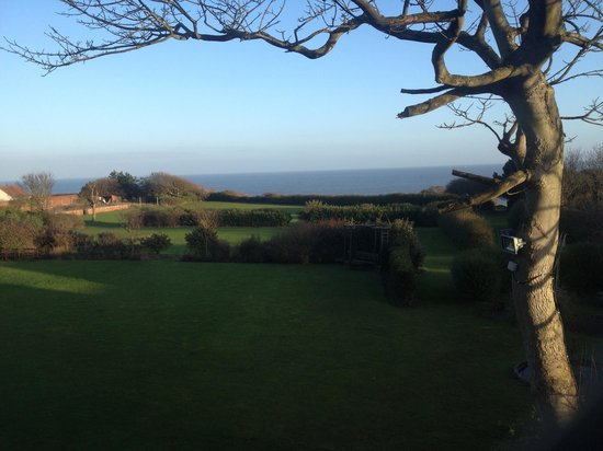 Overstrand, UK: Sea view