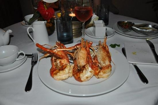Maradiva Villas Resort and Spa:                   dinner