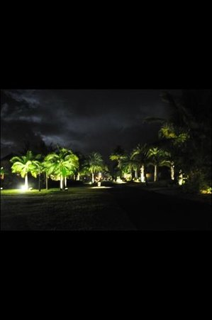 Maradiva Villas Resort and Spa:                   maradiva at night