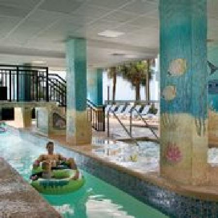 Compass Cove Oceanfront Resort: Indoor/Outdoor Pinnacle Lazy River